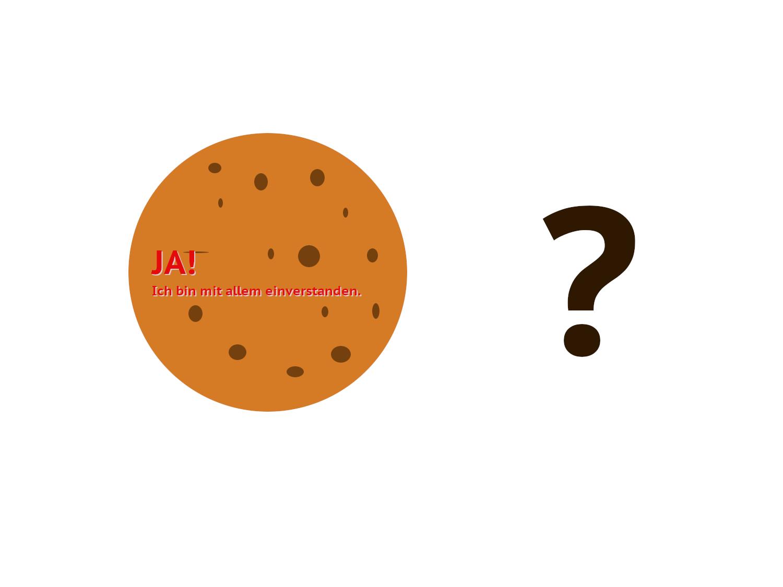 Ja, ich will Kekse. – Ist hier alles erlaubt?
