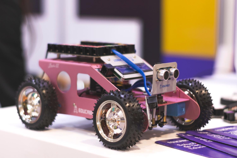 Roboterauto zum Zweck der Ausbildung